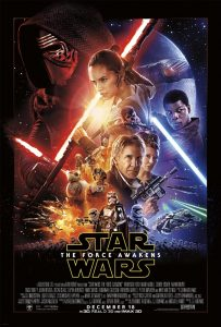 star wars force awakens films poster